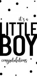 Wenskaart | It's A Little Boy