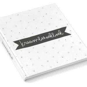 Kraambezoekboek zwart