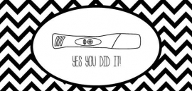 Wenskaart | Yes You Did It!
