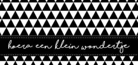Wenskaart | Hoera Een Klein Wondertje