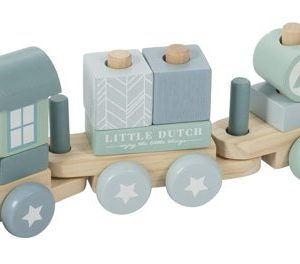 Little dutch trein blauw
