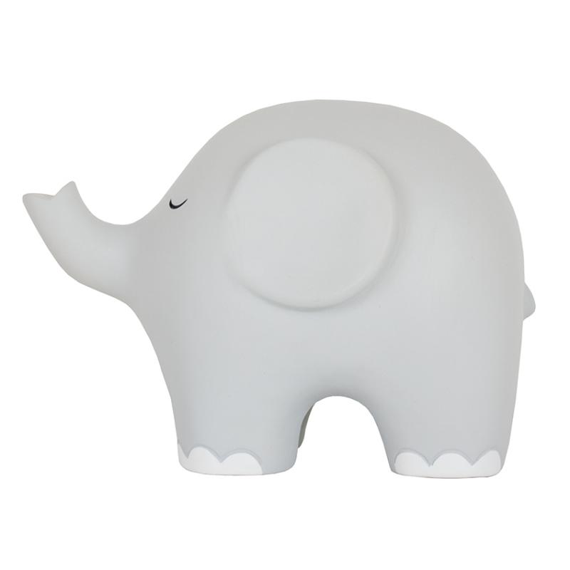 Nachtlampje olifant grijs