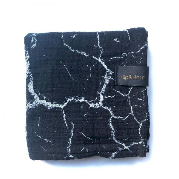 Hydrofiel black/marble XL