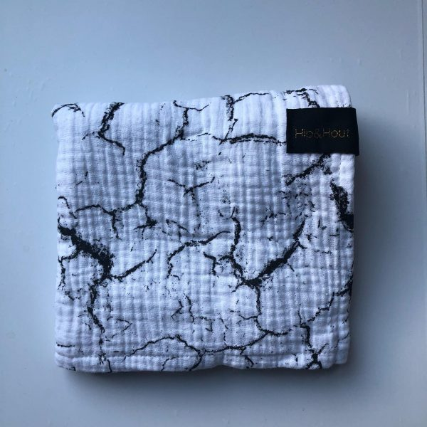 Hydrofiel white/marble XL