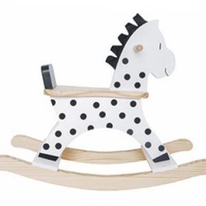 Schommelpaard zebra