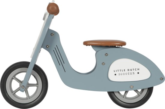 Loopscooter blauw