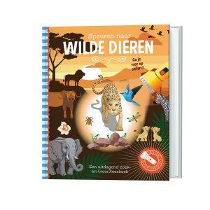 zaklampboek wilde dieren